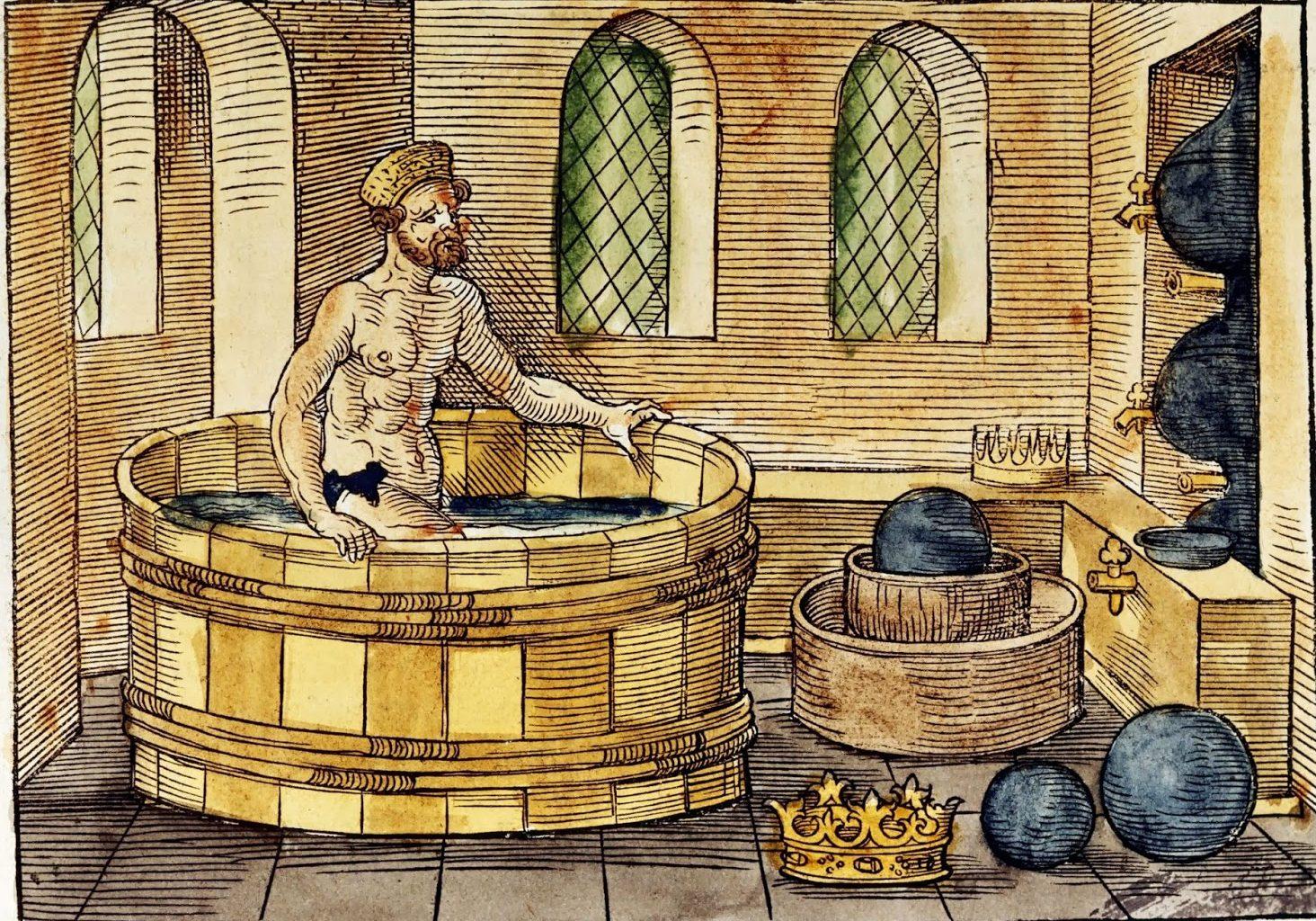 resumen de la biografía de Arquímedes y la corona dorada